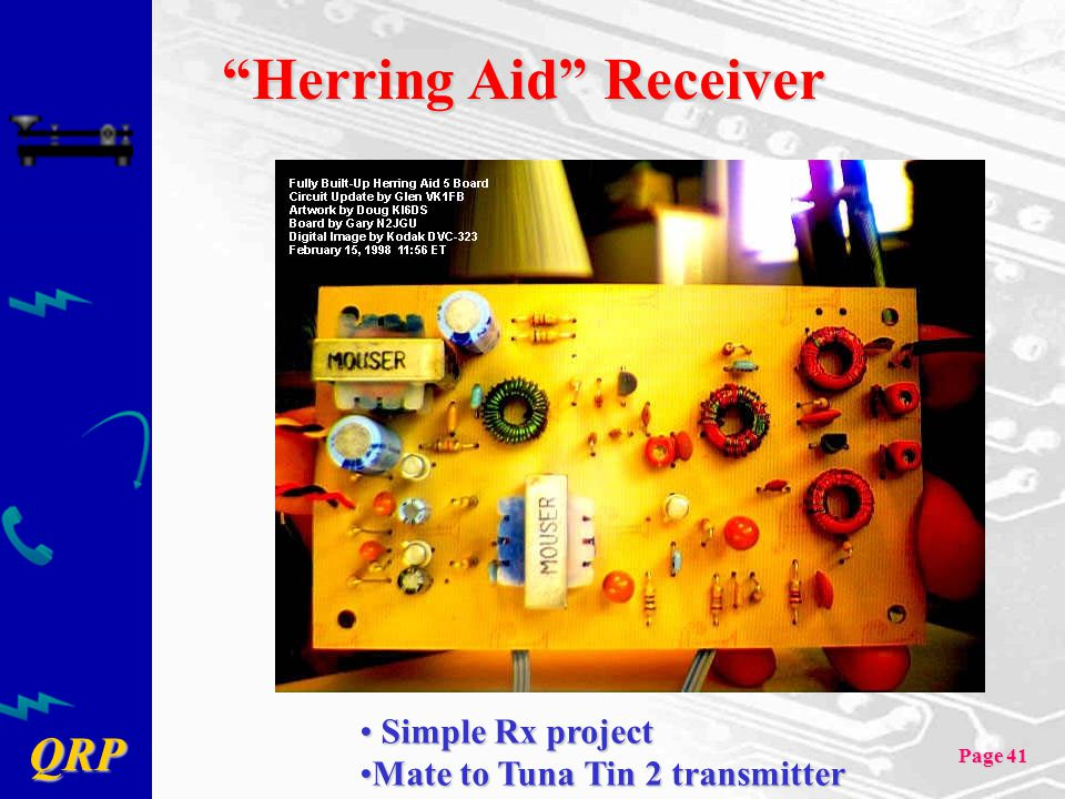 Herring Aid Receiver