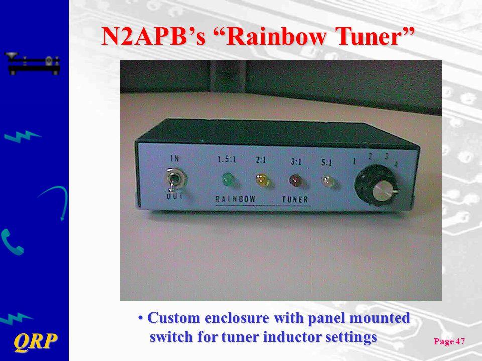 N2APB's Rainbow Tuner