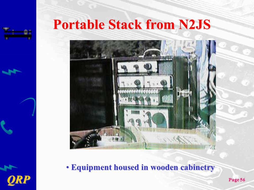 Portable Stack from N2JS