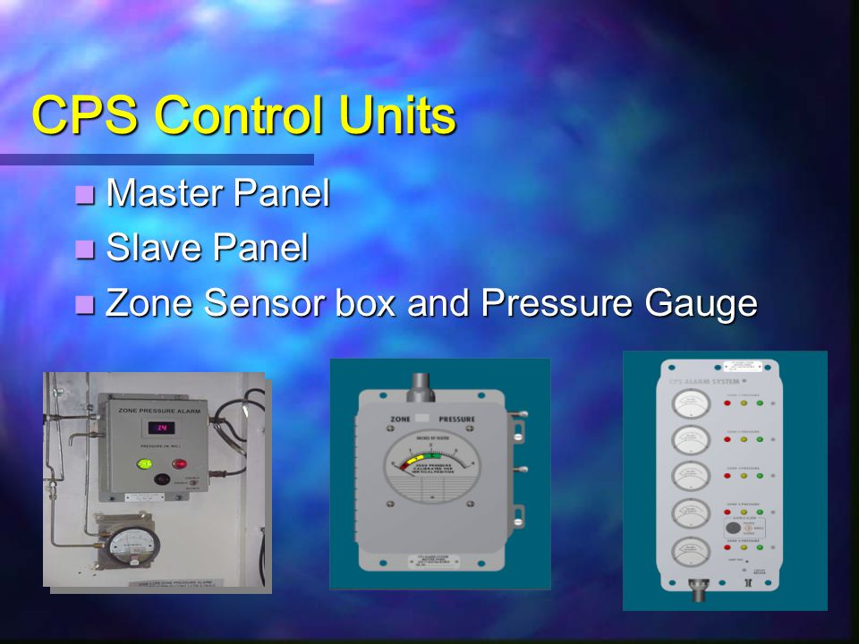 CPS Control Units Master Panel Slave Panel