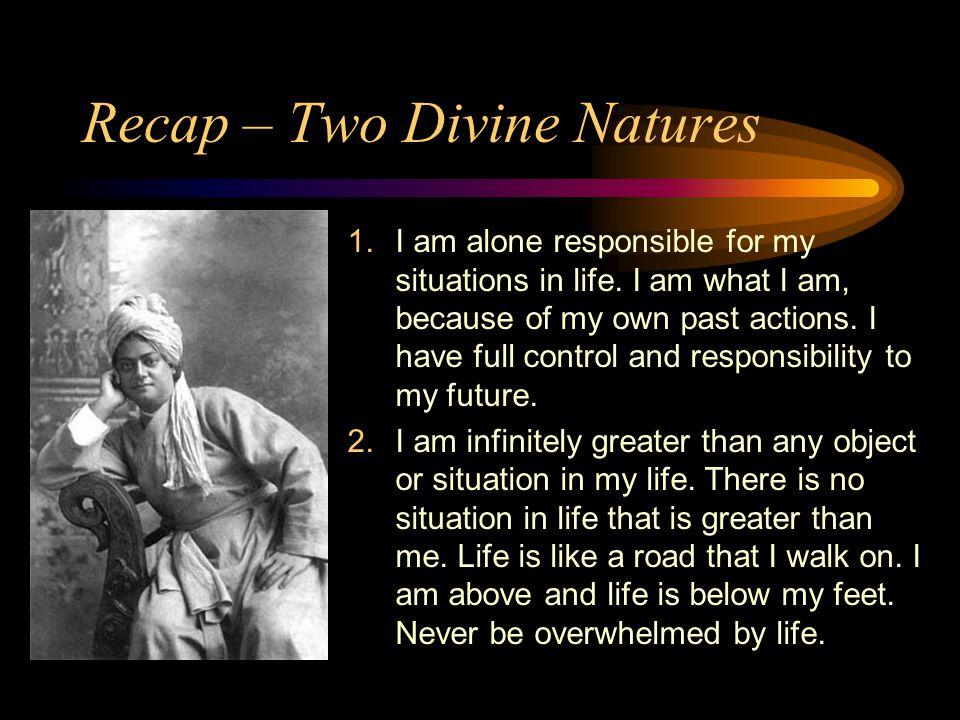 Recap – Two Divine Natures