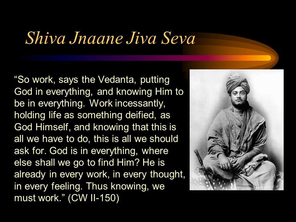 Shiva Jnaane Jiva Seva