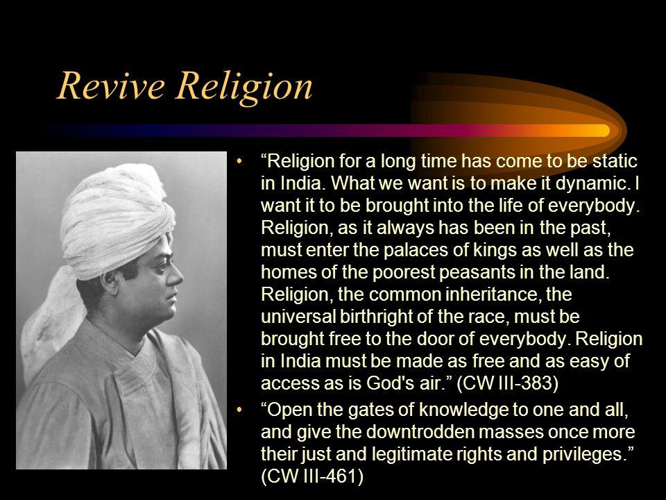 Revive Religion
