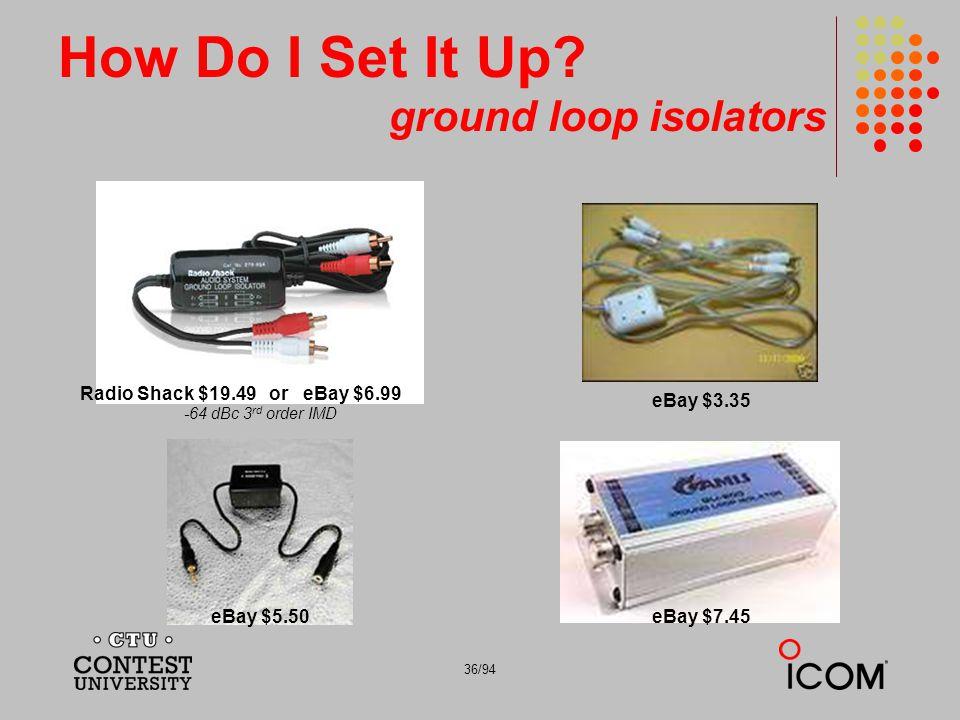 How Do I Set It Up ground loop isolators
