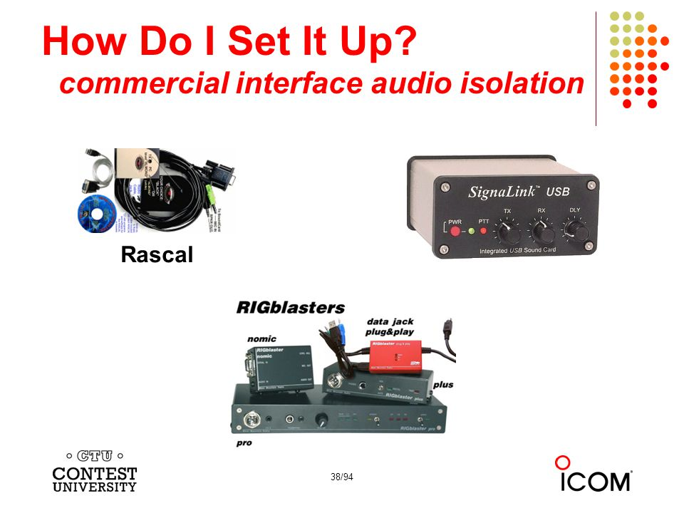 How Do I Set It Up commercial interface audio isolation