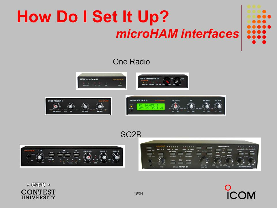How Do I Set It Up microHAM interfaces