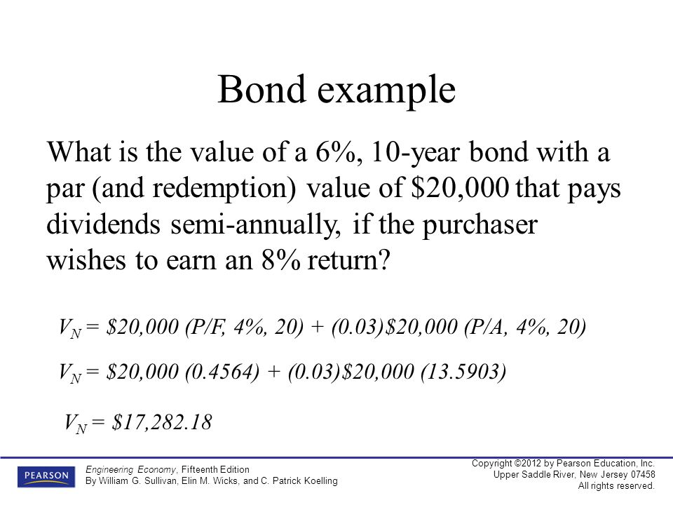Bond example