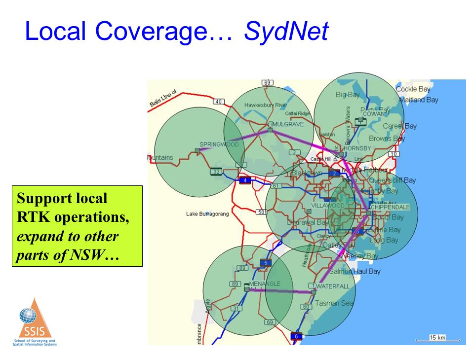 Local Coverage… SydNet
