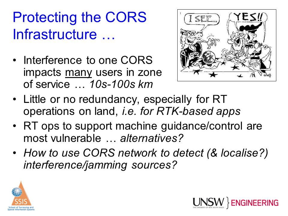 Protecting the CORS Infrastructure …