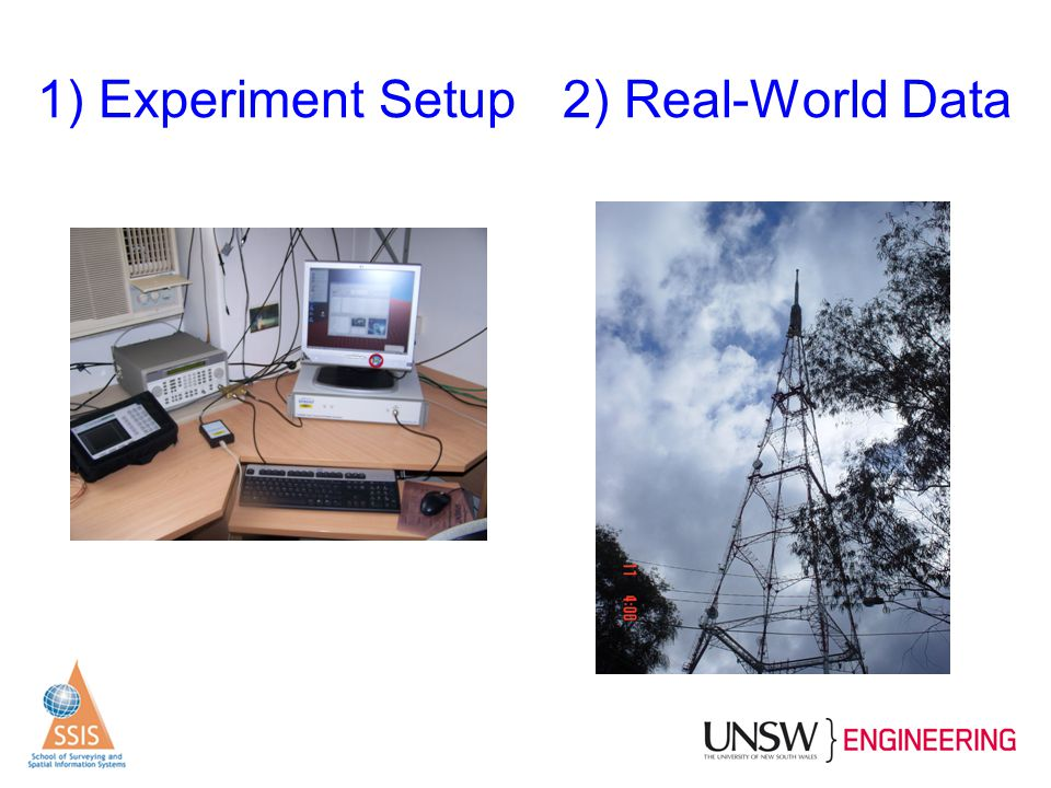 1) Experiment Setup 2) Real-World Data