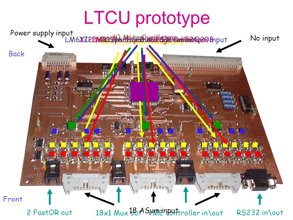 LM6172 to drive threshold discriminators input