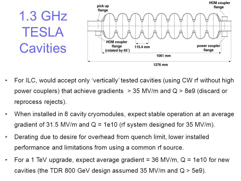 1.3 GHz TESLA Cavities
