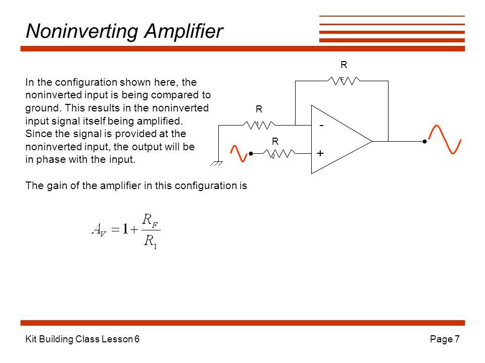 Noninverting Amplifier