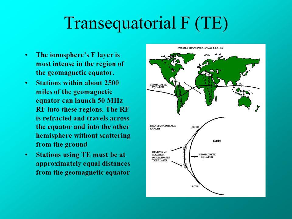 Transequatorial F (TE)