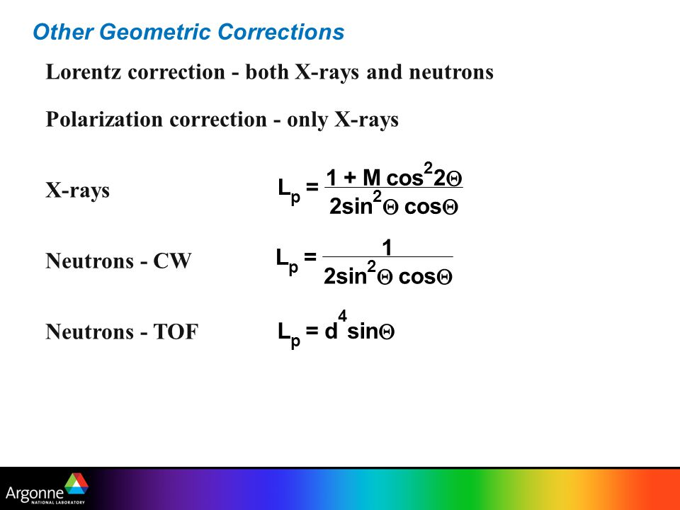 Other Geometric Corrections