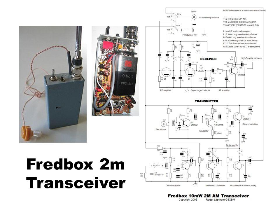 Fredbox 2m Transceiver