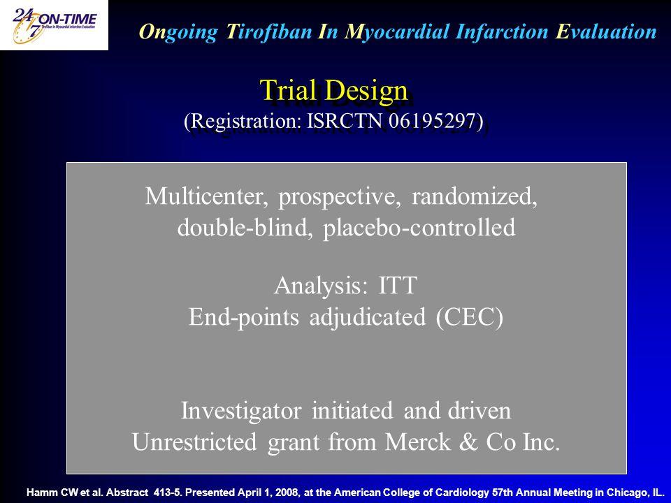 Trial Design (Registration: ISRCTN 06195297)