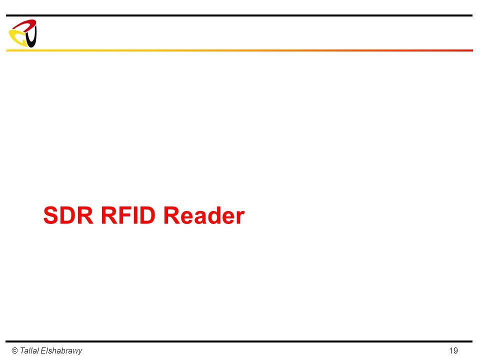 SDR RFID Reader