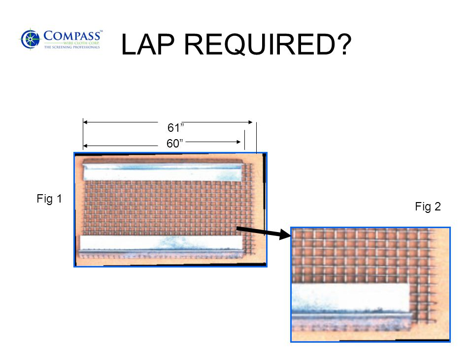 LAP REQUIRED 61 60 Fig 1 Fig 2