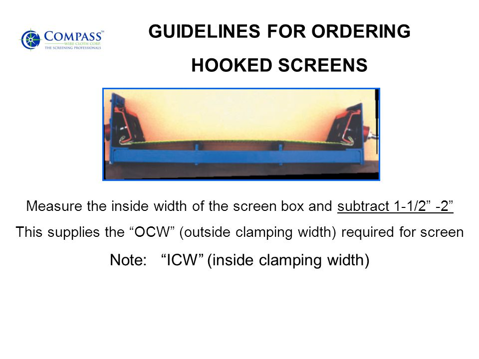 GUIDELINES FOR ORDERING