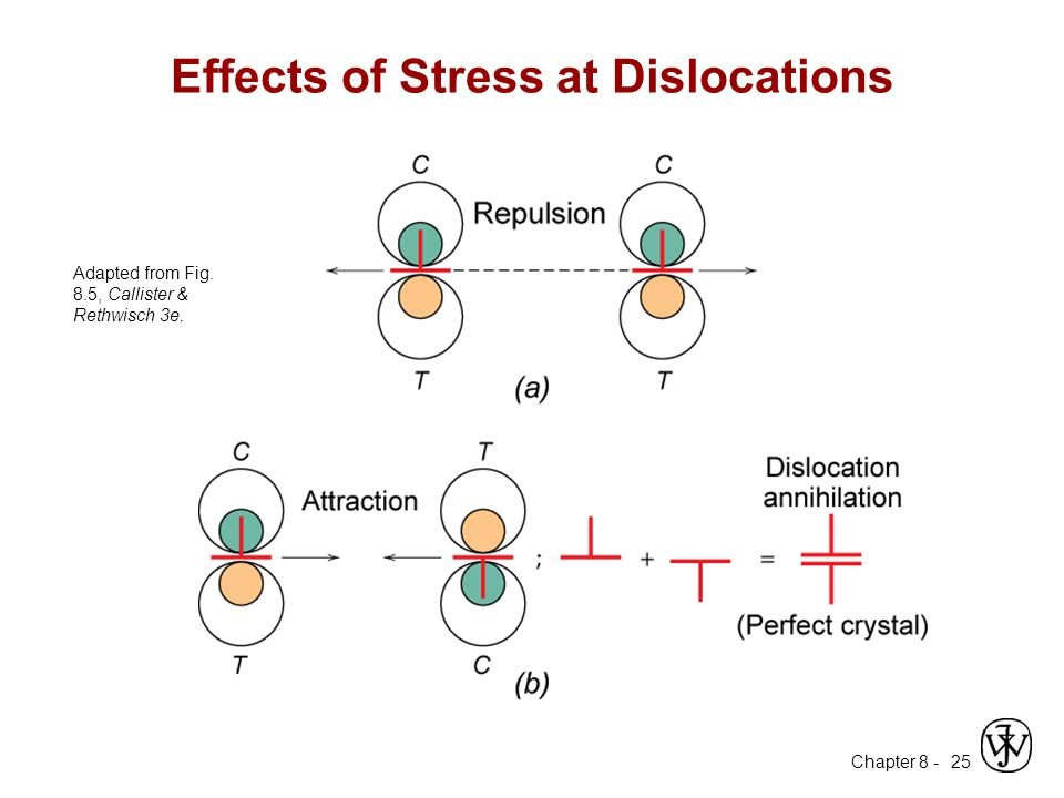 Effects of Stress at Dislocations