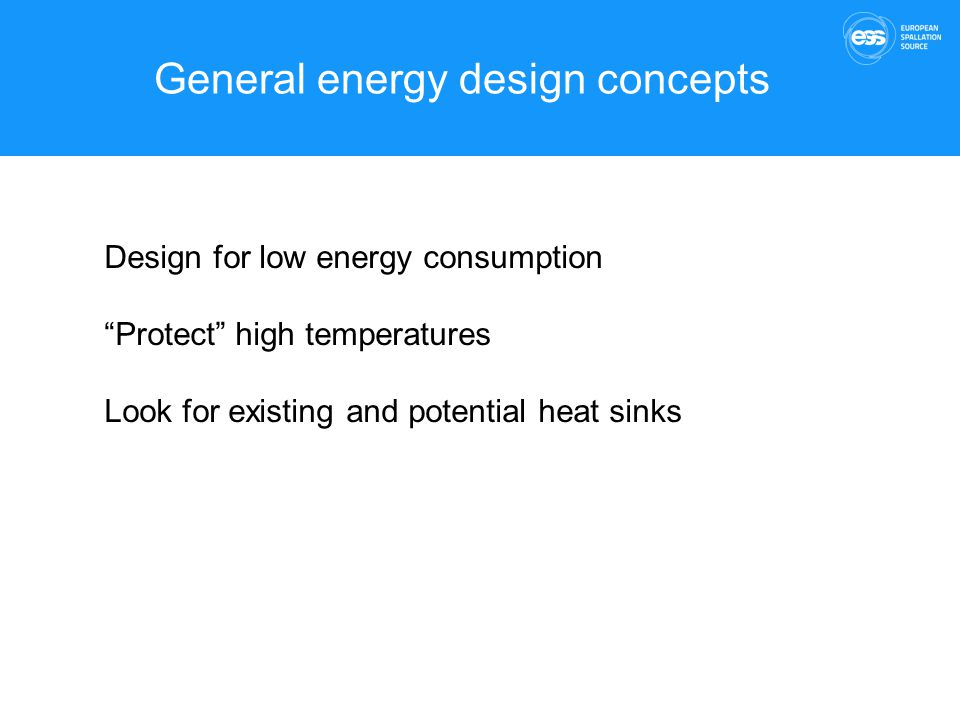 General energy design concepts