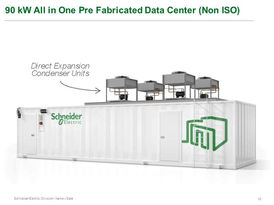 90 kW All in One Pre Fabricated Data Center (Non ISO)