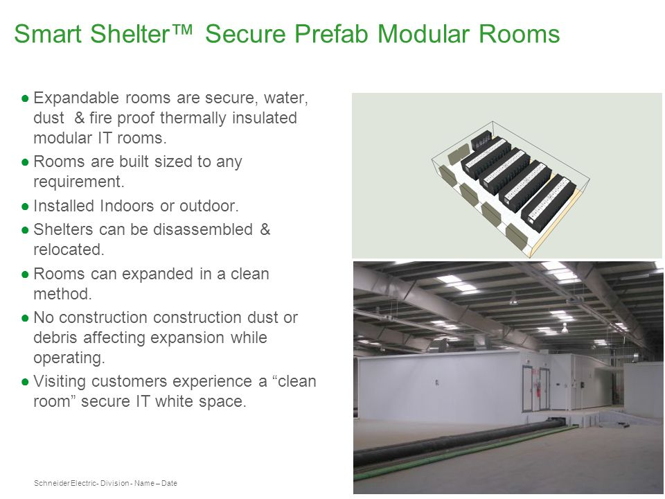 Smart Shelter™ Secure Prefab Modular Rooms