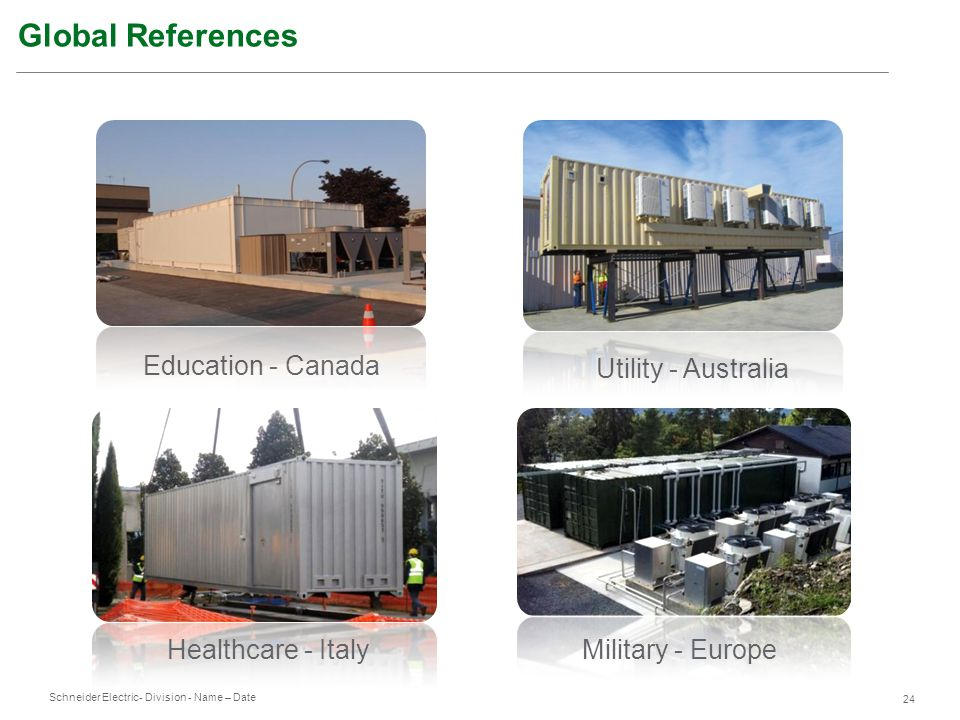 Global References Education - Canada Utility - Australia