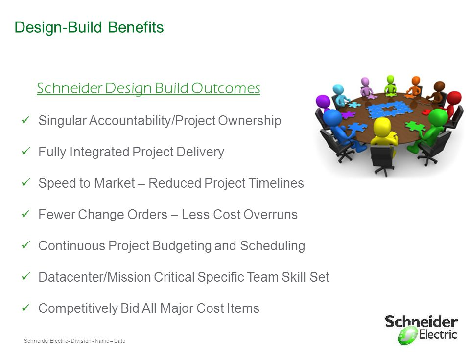 Design-Build Benefits