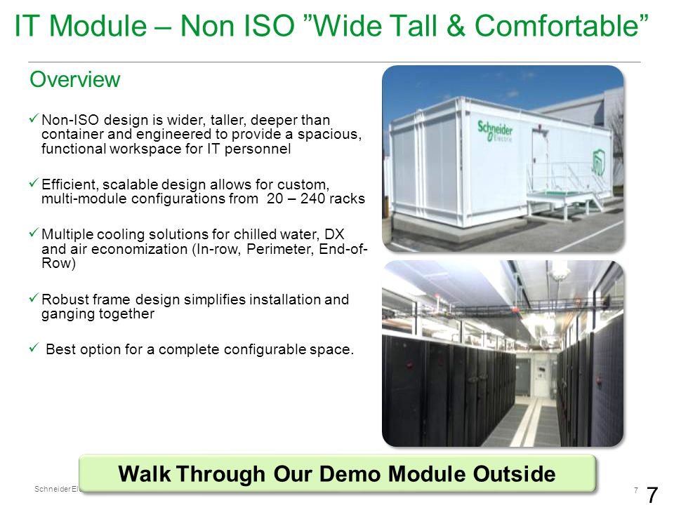Walk Through Our Demo Module Outside