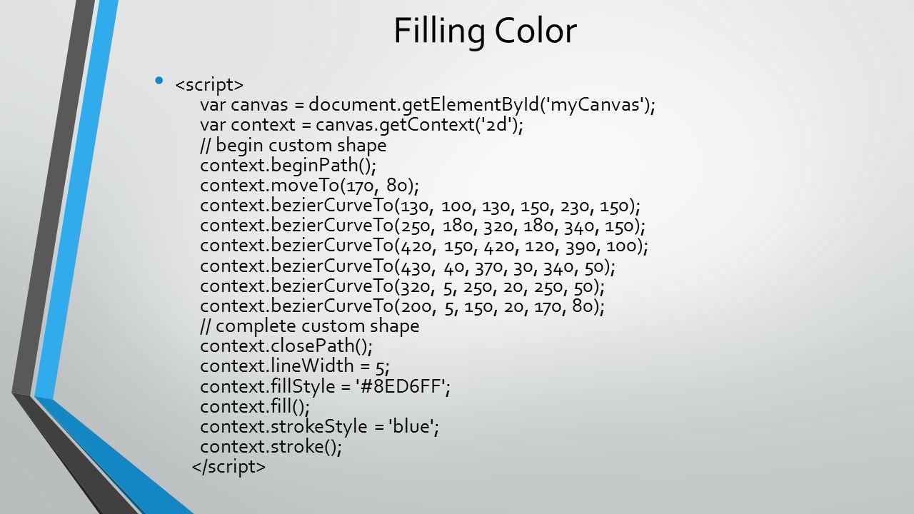 Filling Color