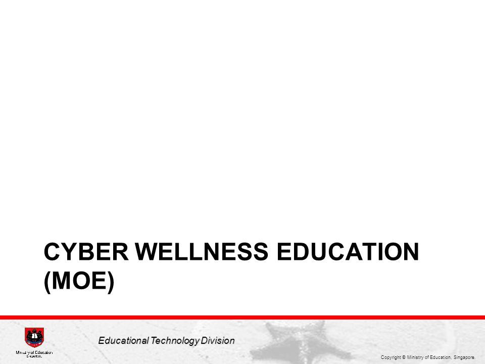 Cyber wellness education (moe)