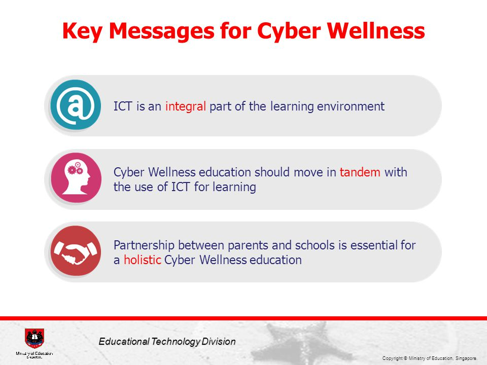 Key Messages for Cyber Wellness