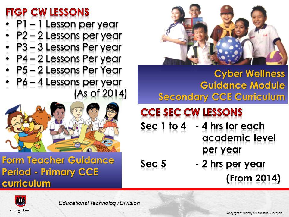 Secondary CCE Curriculum