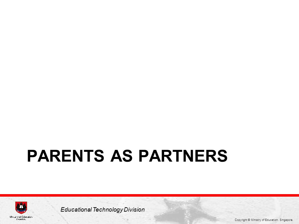 Parents play an important role as partners, giving the child a holistic cyber wellness environment to harness technology for learning and innovation. In this section, we share some strategies that parents can adopt as our students navigate the cyber world.