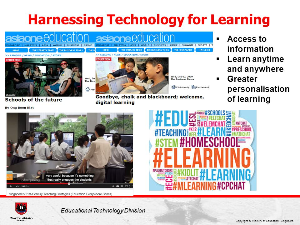 Harnessing Technology for Learning