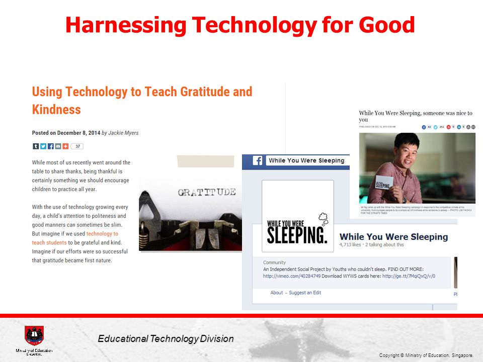 Harnessing Technology for Good