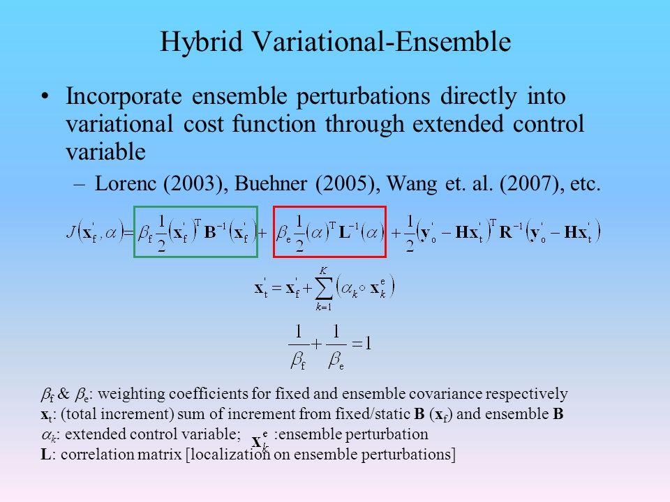 Hybrid Variational-Ensemble
