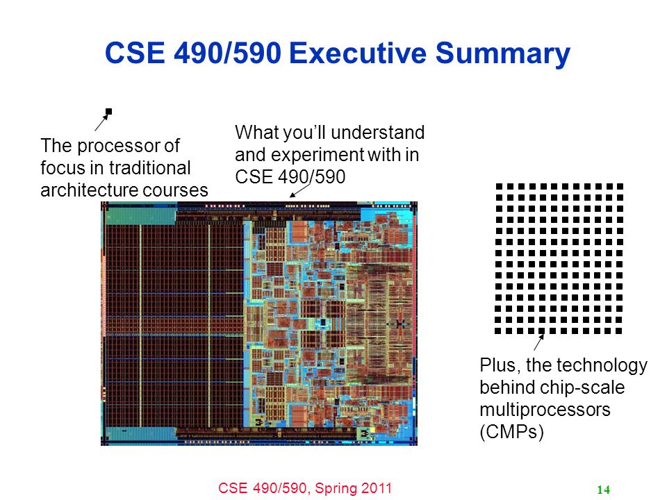 CSE 490/590 Executive Summary