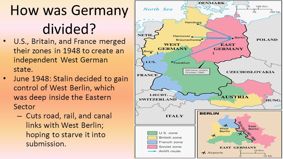 How was Germany divided