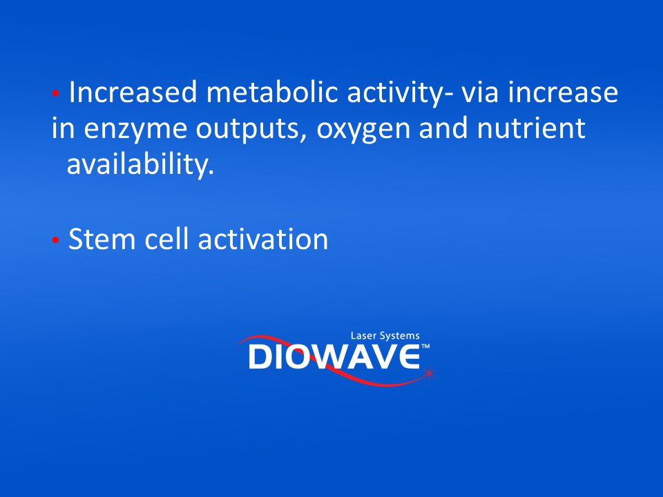 Increased metabolic activity- via increase in enzyme outputs, oxygen and nutrient availability.