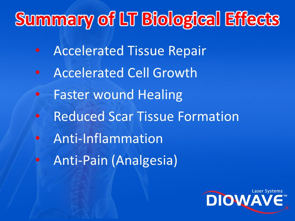 Summary of LT Biological Effects