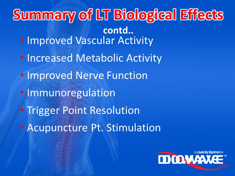 Summary of LT Biological Effects contd..