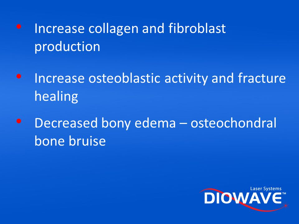 Increase collagen and fibroblast production