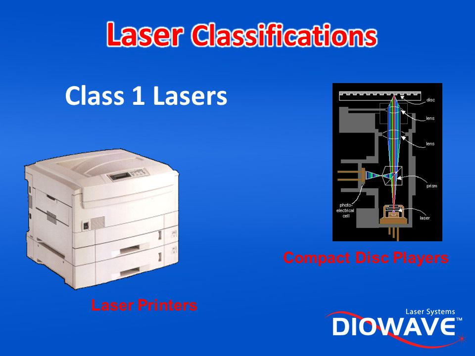 Laser Classifications