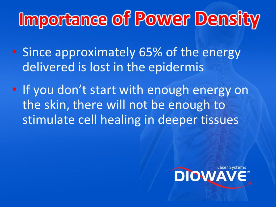 Importance of Power Density
