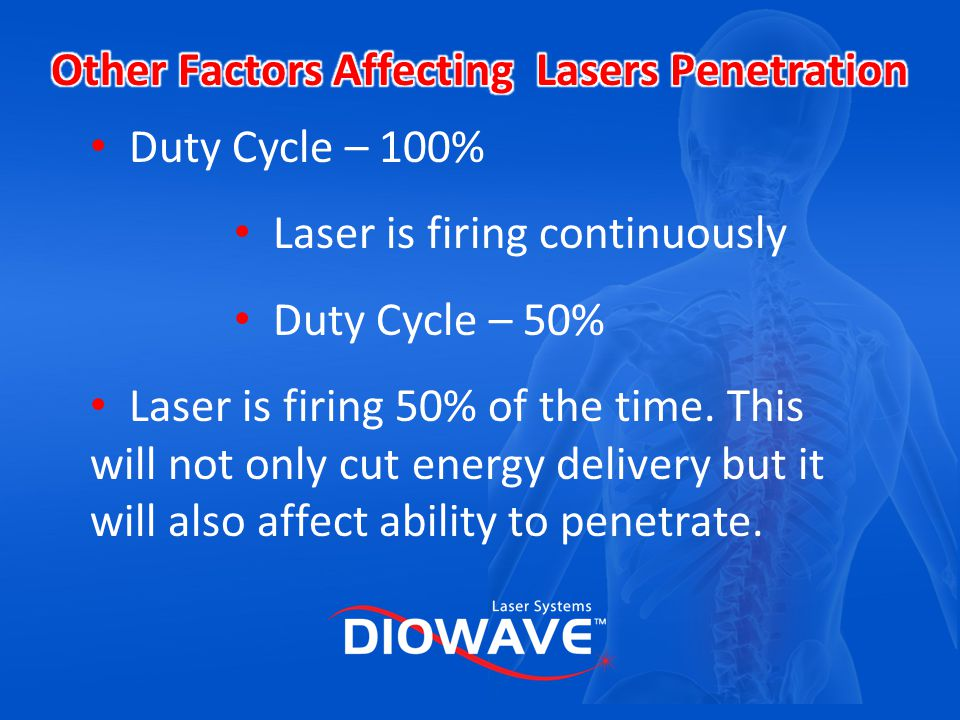 Other Factors Affecting Lasers Penetration