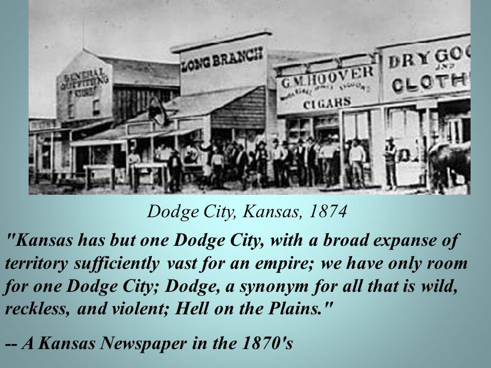 Dodge City, Kansas, 1874