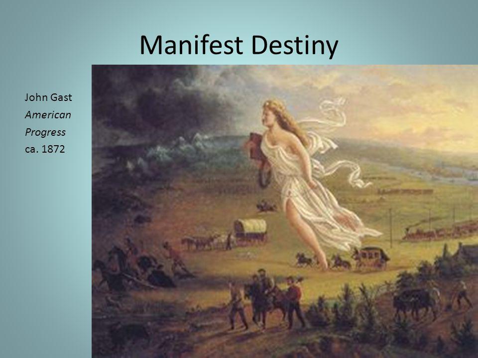 Manifest Destiny John Gast American Progress ca. 1872
